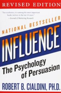 Influence: The Psychology Of Persuasion book cover