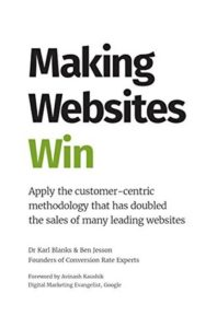 Making Websites Win book cover