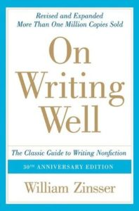 On Writing Well book cover